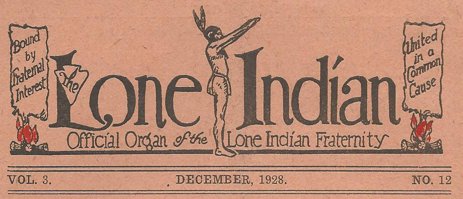 1928 12 Lone Indian 00
