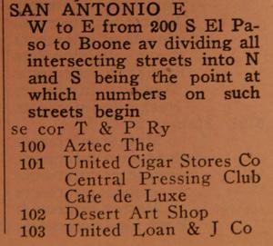 Aztec listing