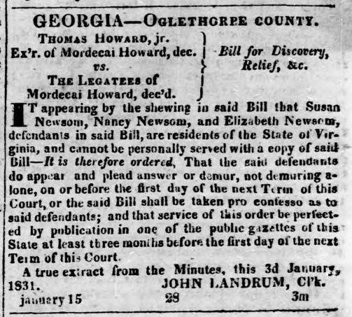 1831 04-07 The Federal Union (Milledgeville) p4