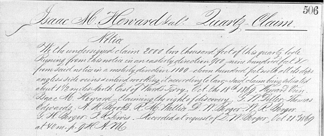 1869 10-18 Quartz Claim